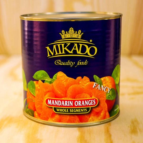 Mandarin-Orangen, leicht gezuckert max 5 % Bruch