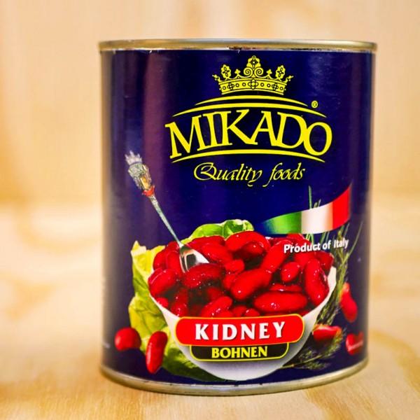 Kidney-Bohnen, rot