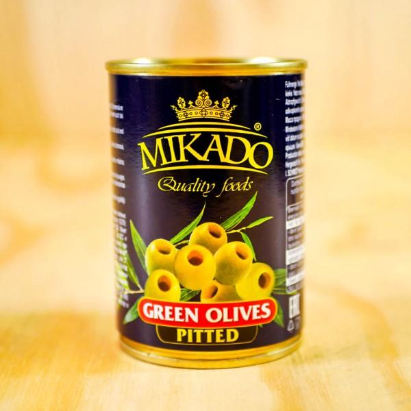 Oliven, grün, ohne Stein