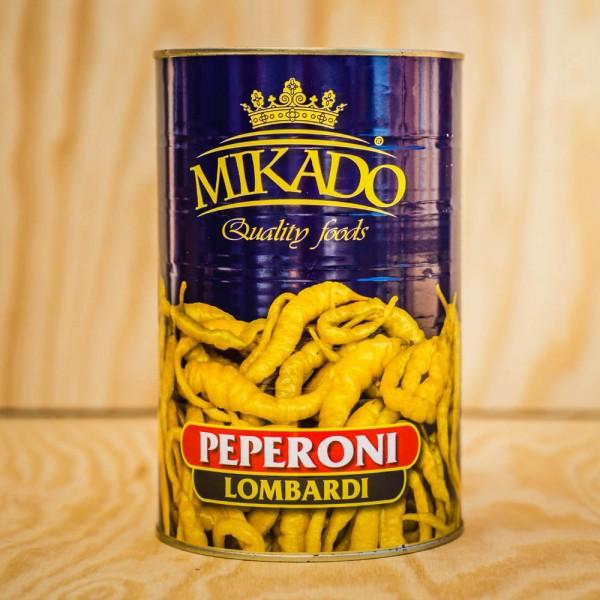 Peperoni Lombardi, grün, ganz, mild