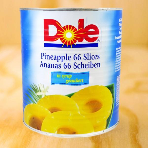 Ananas-Scheiben, gezuckert
