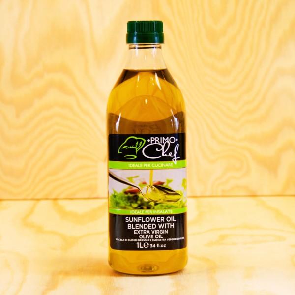 Sonnenblumen Öl 85 % und 15 % Oliven Öl extra vergine