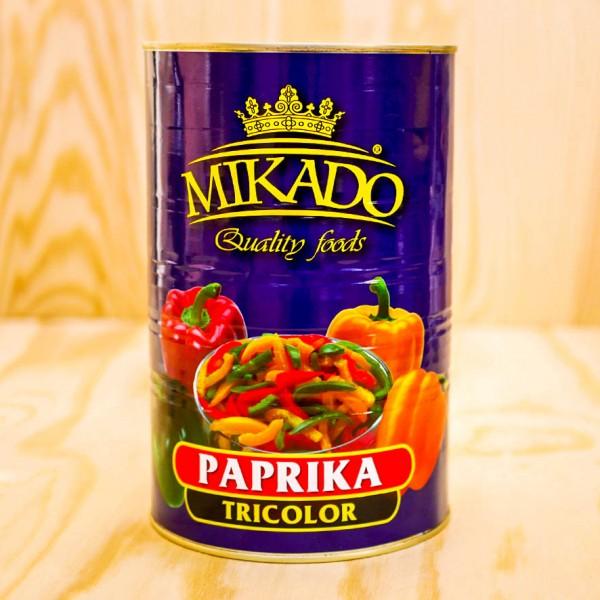 Paprika-Streifen bunt (Californien Wonder),
