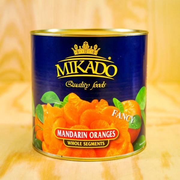 Mandarin-Orangen, leicht gezuckert,max 5% Bruch