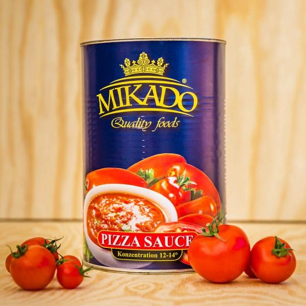 Tomaten, Pizza Sauce, ungewürzt,