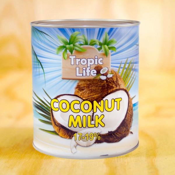 Kokosmilch, 17-19% Fett