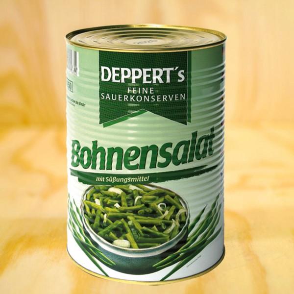 Bohnensalat, grün