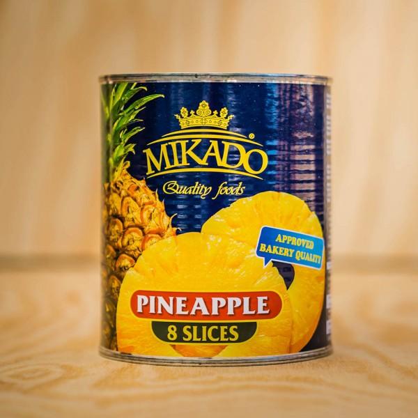 Ananas-Scheiben, leicht gezuckert, Ring 1