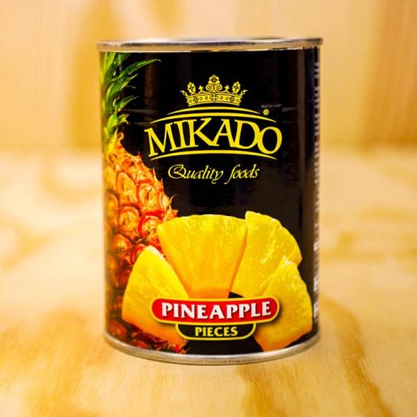 Ananas-Scheiben, leicht gezuckert