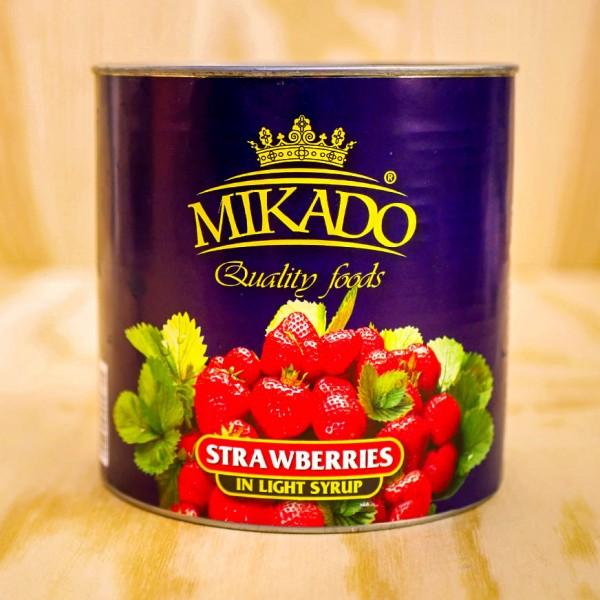Erdbeeren, leicht gezuckert