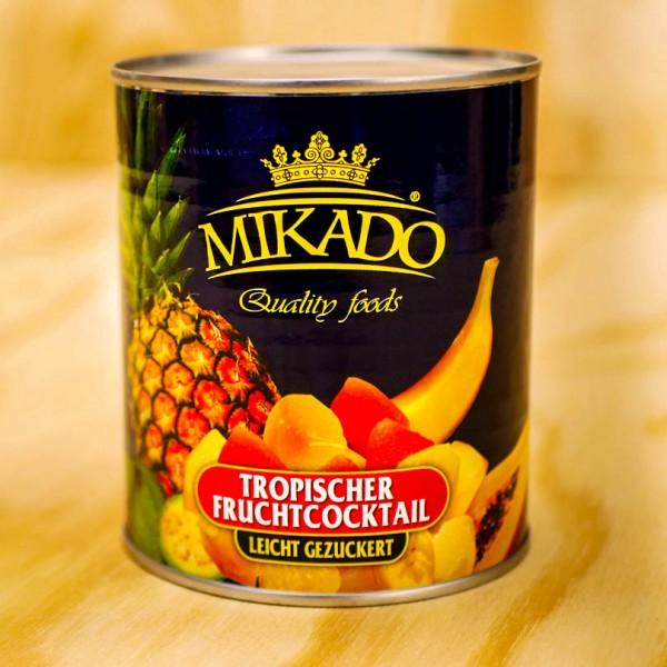 Fruitcocktail - Trop. Frucht-Cocktail, leicht gezuckert