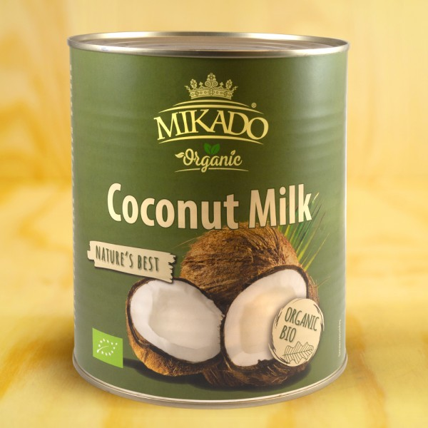 Kokosmilch, 17-19% Fett, BIO