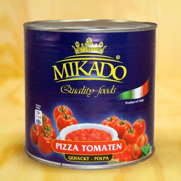 Tomaten, Pizza-Tomaten, gehackt