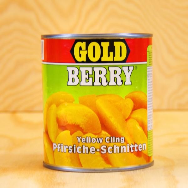 Pfirsiche, in Scheiben, leicht gezuckert