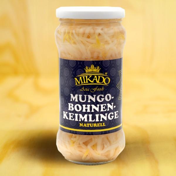 Mungobohnen-Keimlinge