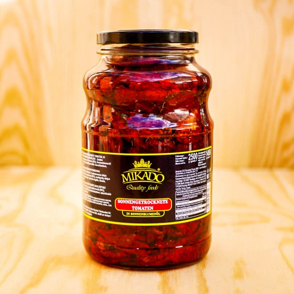 Tomaten sonnengetrocknet in Sonnenblumen Öl