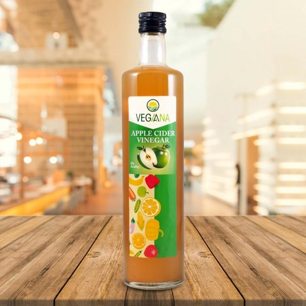 Bio Apfel Essig vegan, 6 x 500ml PET Bottle, VEGA ANA