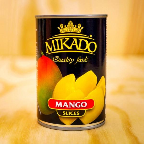 Mango-Scheiben, leicht gezuckert