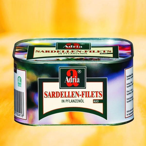 Sardellenfilets, in Öl